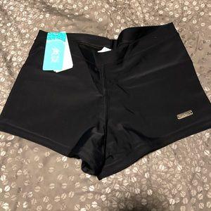Luz de Mar Black Swim Shorts